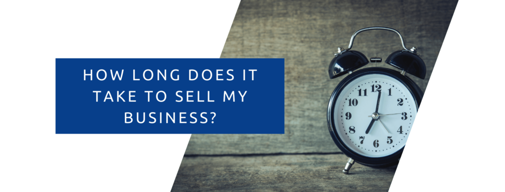 How long does it take my business to sell.